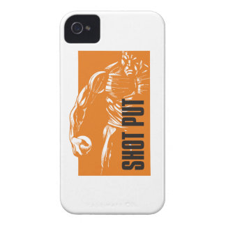 shot put iPhone 4 case