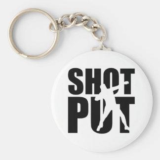 Shot put keychain