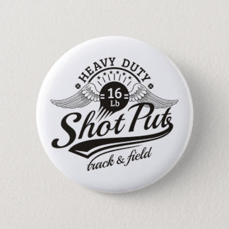shot put wings 2 inch round button