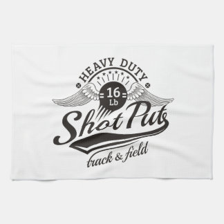 shot put wings kitchen towel