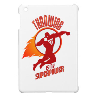 shot putting is my superpower iPad mini covers