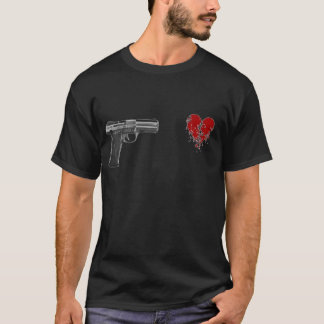 Shot throught the heart T-Shirt