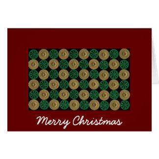 shotgun shell Christmas card