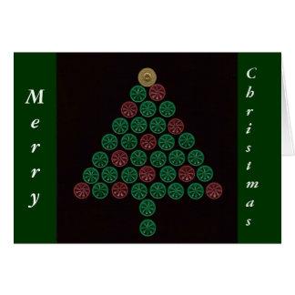 Shotgun Shell Christmas Tree Card