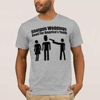 Shotgun Wedding, black T-Shirt