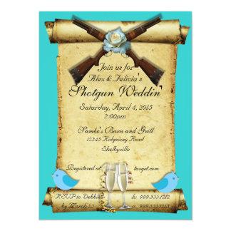 Shotgun Wedding Invitations