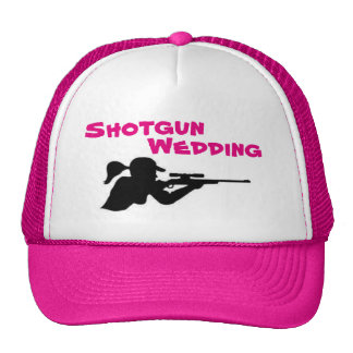 Shotgun Wedding Trucker Hat