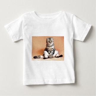 Shotlanskogo Fold Cat Kitten Pets British Cat Baby T-Shirt