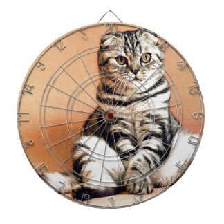 Shotlanskogo Fold Cat Kitten Pets British Cat Dartboard