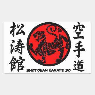 Shotokan adhesive Karate-pity Sticker