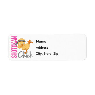 Shotokan Chick Return Address Label