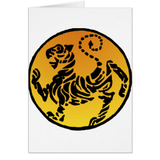 Shotokan Tiger - Gold Card