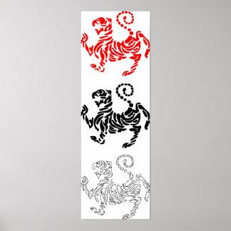 Shotokan Tiger Poster