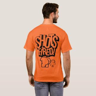 Shots Fired Safety Orange T-Shirt