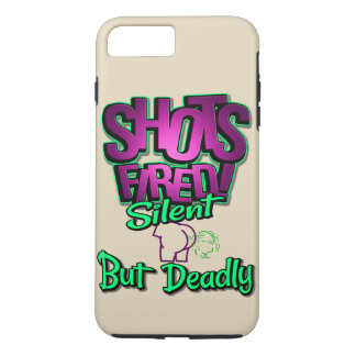 Shots Fired Silent But Deadly phone case