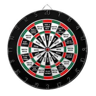 Should I have a beer - decision maker Dartboard