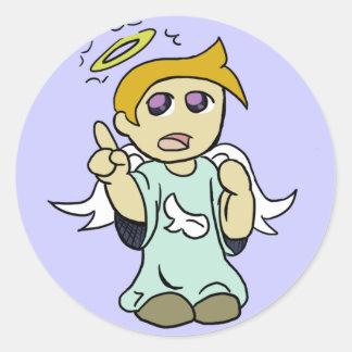 Shoulder Angel Sticker