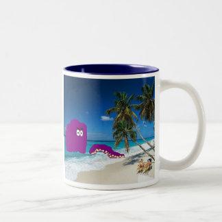 """Shouldn't have had that Calamari..."" Two-Tone Coffee Mug"