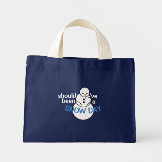 Should've been a Snow Day tote