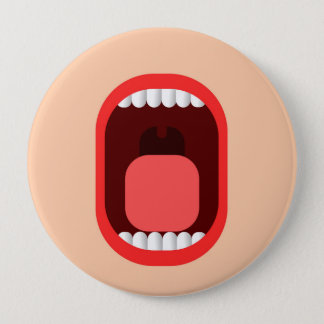 Shout 4 Inch Round Button