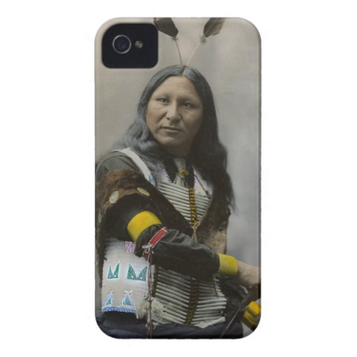 Shout At Oglala Sioux 1899 Indian iPhone 4 Case
