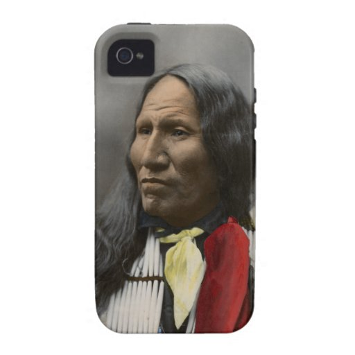 Shout At Oglala Sioux 1899 Indian Vintage iPhone 4/4S Covers