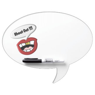 Shout Out Fun Speech Bubble Dry Erase Board