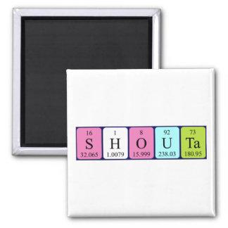 Shouta periodic table name magnet