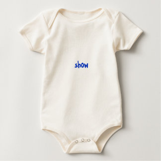 show baby bodysuit