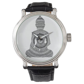 Show Bouddha GraphiZen Watch