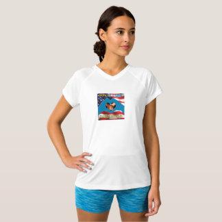 SHOW GOD'S LOVE Women's V-Neck T-Shirt