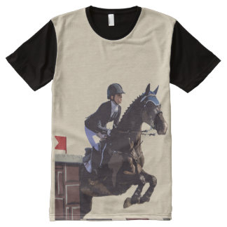 Show Jumper All-Over-Print T-Shirt