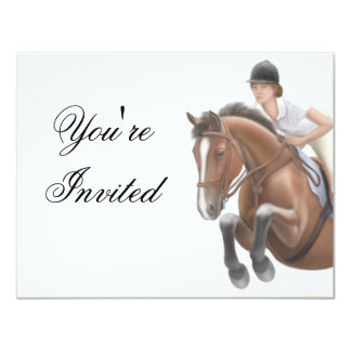 Show Jumper Invitation