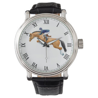 Show Jumping Horse Equestrian Watch