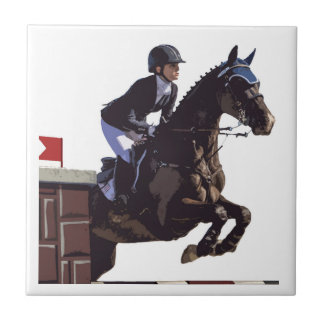 Show Jumping Tile