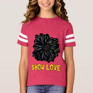 """Show Love"" Girls' Sports Shirt"