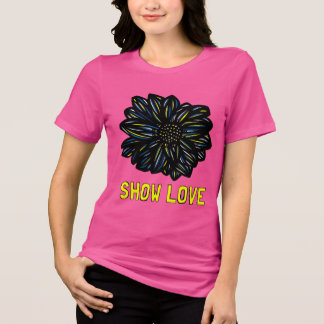 """Show Love"" Women's Relaxed Fit Shirt"