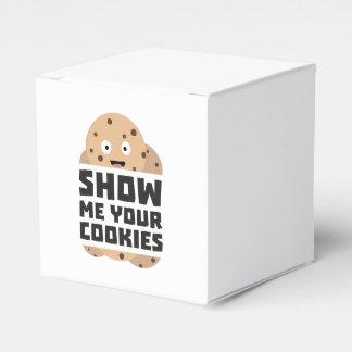 Show me Cookies Zq3fm Party Favor Boxes