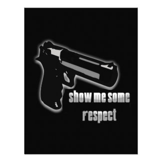 Show Me Some Respect Customized Letterhead