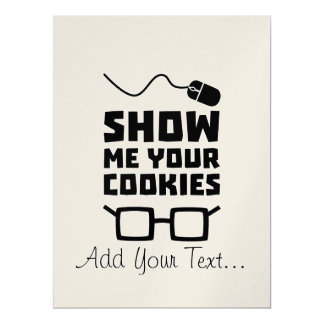Show me your Cookies Geek Zb975 Card