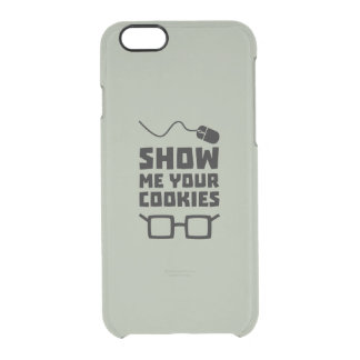 Show me your Cookies Geek Zb975 Clear iPhone 6/6S Case