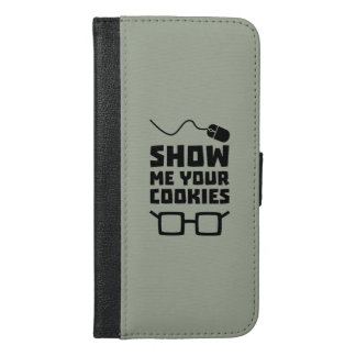 Show me your Cookies Geek Zb975 iPhone 6/6s Plus Wallet Case