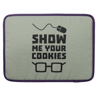 Show me your Cookies Geek Zb975 Sleeve For MacBook Pro