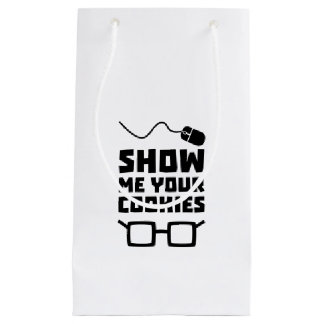 Show me your Cookies Geek Zb975 Small Gift Bag