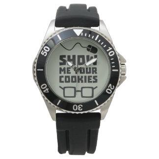 Show me your Cookies Geek Zb975 Watch