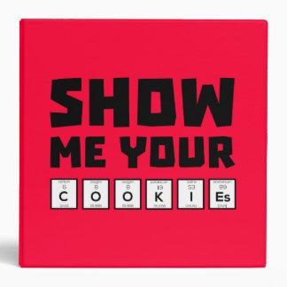 Show me your cookies nerd Zh454 Binder