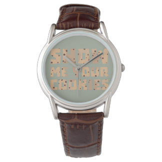 Show me your Cookies Z52z4 Watch