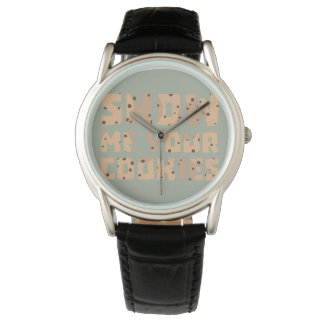 Show me your Cookies Z52z4 Wrist Watches