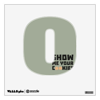 Show me your Cookies Z64x4 Wall Sticker