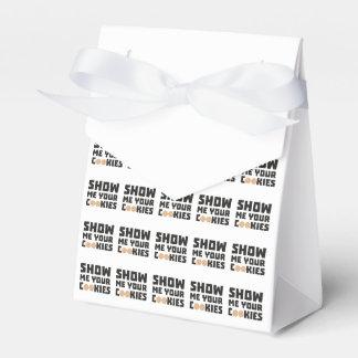 Show me your Cookies Z64x4 Wedding Favor Box